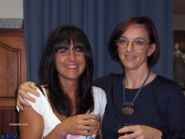 Elena Gillio et Lysiane Fays